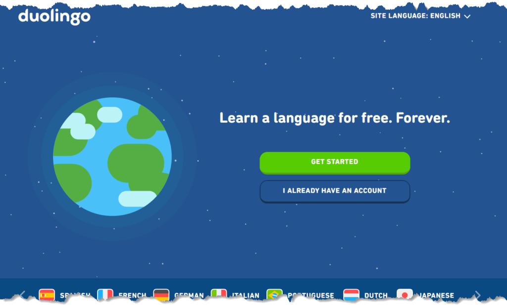 how do footballers learn languages - duolingo app