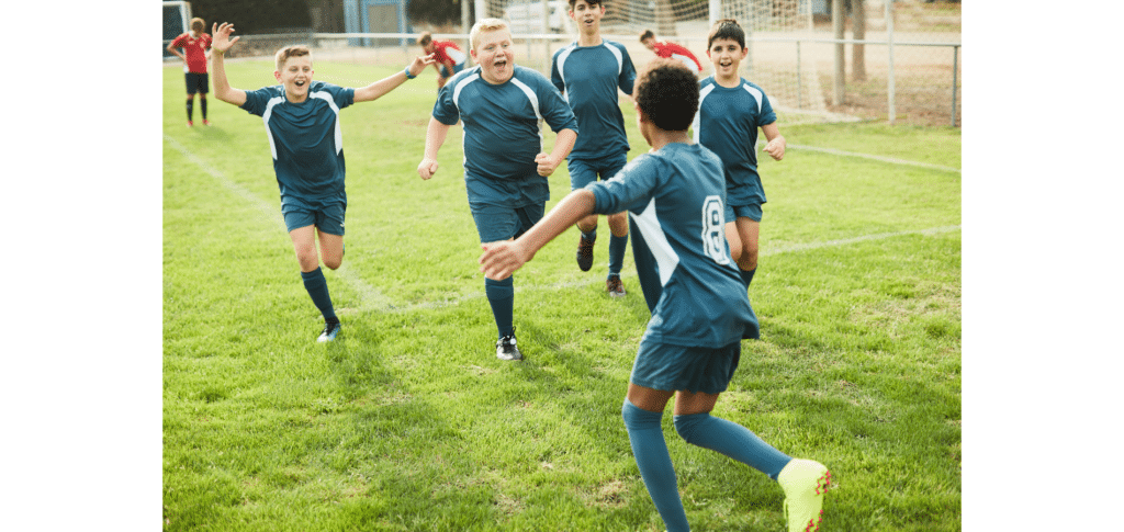 how to become a footballer at 14 - join a local football team